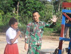 Semangat Hari Lahir Pancasila, Satgas Yonif 611/Awang Long Terapkan Nilai Kebersamaan di Papua