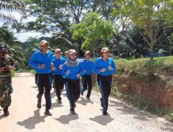 Sertu Yuwono Berikan Wawasan Kebangsaan siswa SMAN 1 Koba