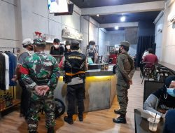 Satgas PPKM Pahandut Tindak Tegas Kafe Pelanggar Prokes