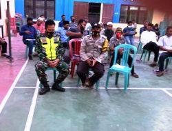 Pembentukan Panitia PTSL, Babinsa Purwajaya tekankan Harus Selektif