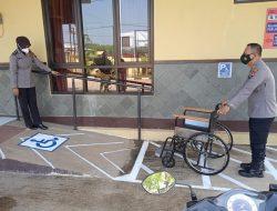 Tingkatkan Pelayanan, Polsek Bojong Fasilitasi Penyandang Disabilitas