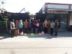 Korban Kebakaran di Kelurahan Panarung Dapat Bantuan Sembako