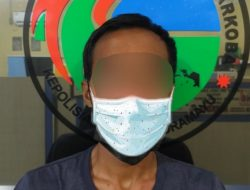 Polres Indramayu Polda Jabar Ringkus Seorang Pria, Diduga Pengedar Sabu Jaringan Jakarta