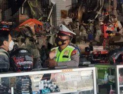 Himbau Pengguna Knalpot Racing Kanit Dikyasa Sat Lantas Polres Bantaeng Datangi Penjual Knalpot