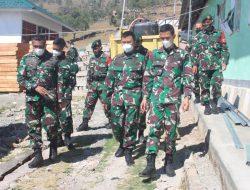 Satgas Pamtas RI – RDTL Sektor Barat Yonarmed 6/3 Kostrad Menerima Kunjungan Tim Dalproggar TNI AD