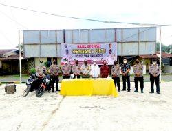Laksanakan Jukrah Kapoldasu Polres Simalungun Gelar Operasi Anti Premanisme dan Pungli