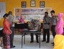 Pimpin Sidang Nikah Dinas BP4R, Ini Pesan Wakapolres Kepada 15 Pasangan Personel Polres Puncak Jaya