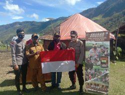 Ciptakan Komunikasi Yang Harmonis, Program SASAKA Polres Puncak Jaya Hadir di Kampung Usir Mulia