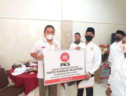 DPC PKS Tegal Selatan Resmi Lantik 9 Pengurus Ranting, Target Tiap Dapil 2 Kursi