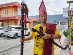 Stuntman Kutukan Ketua PWI Langkat Bagi Pelaku Pembakaran Rumah Wartawan Binjai