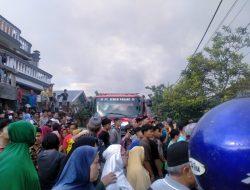 Kebakaran Hebat Hanguskan Satu Buah Rumah Permanen Di Kampung Baru