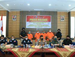 Polda Sumbar bersama Balai TNKS dan BPPHLHK Sumatera Amankan 4 Orang Perambah Hutan