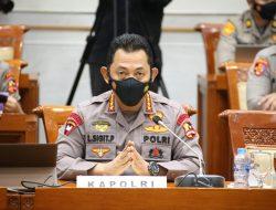 KapolriJenderal Listyo Sigit Prabowomelakukan RDP Dengan Komisi III DPR
