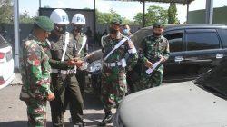 Denpom Divif 2 Kostrad Periksa Kelengkapan Kendaraan Prajurit Yonif Mekanis Raider 413 Kostrad