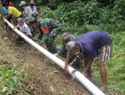 Pangdam IX/Udayana Tinjau Pemasangan Pompa Hidram di Tabanan