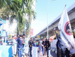 Gelar Unras, DPP OPM Desak Ditlantas Polda Sulsel Evaluasi Kepala Samsat Makassar dan Beberapa Samsat di Daerah