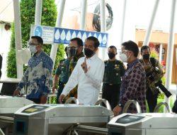 Presiden RI Tinjau Pelaksanaan Vaksinasi di Stasiun Bogor