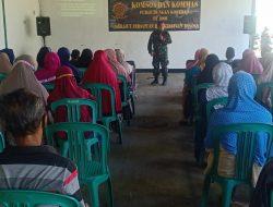 Pererat Silaturahmi, Perhubungan Kostrad Gelar Komsos dengan Komponen Masyarakat
