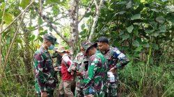 Zidam II/Tpr Ukur Batas-Batas Aset Tanah TNI AD dengan Kantah Singkawang