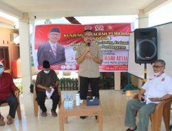 Kundapil Anggota DPRD Provinsi Sulawesi Selatan Andi Hery Dari Maros Masih Bawa Banyak Usulan.
