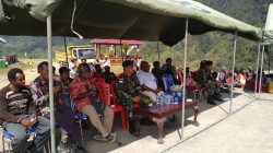 Pos TNI di Sugapa Intan Jaya menciptakan Keamanan dan Ketentraman di Wilayah Papua