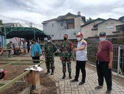 Wakil Walikota Surakarta Bersama Dasatgas Cek Progres Sasaran Fisik TMMD Reguler Ke-111 Kodim 0735/Surakarta