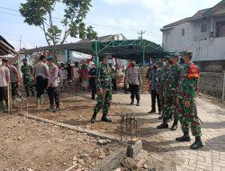 Tim Wasev Itdam IV/Diponegoro Kunjungi Lokasi TMMD Reguler Ke-111 Kodim 0735/Surakarta