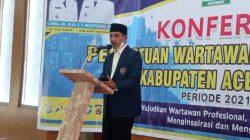 Konferensi I PWI Aceh Tamiangdi Skors, Ini Alasannya