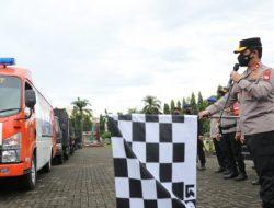 10.000 Paket Bansos Dilepas Kapolda Sulsel Untuk Masyarakat Terdampak PPKM Mikro
