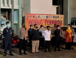 Malam Takbiran, Personel TNI-Polri dan Tim Satgas Ikuti Apel Pengamanan Iduladha