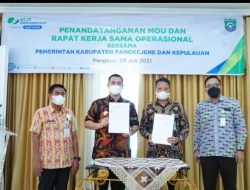 Pemkab Pangkep Ikutkan 3100 THL Kepesertaan BPJS Ketenagakerjaan