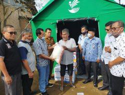 Irwan Basir Dt.Rj.Alam Sangat Prihatin Dan Beri Bantuan Kepada Korban Kebakaran Di Tunggul Hitam