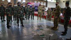 Prajurit Kostrad Ikuti Briefing Staf dan Komando Pada Latma Garuda Shield-15/2021