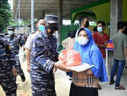 TNI AL LANTAMAL IV KEMBALI GELAR SERBUAN VAKSIN COVID -19 TAHAP II  DI KAMPUNG BAHARI NUSANTARA