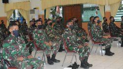 Danrem 052/WKR Tutup Dik Tuk Ba Otsus di Rindam Jaya