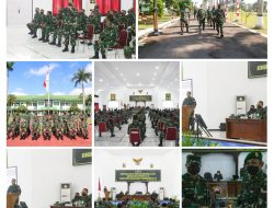 Danpusterad Kunjungi Markas Korem 071/Wijayakusuma