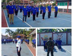 Warga Binaan Rutan Kelas IIB Purbalingga, Dijemur TNI