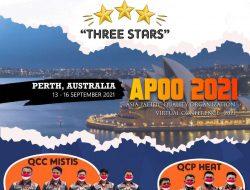 PT Semen Tonasa Raih Penghargaan Three Star Pada Ajang AQPO Di Australia