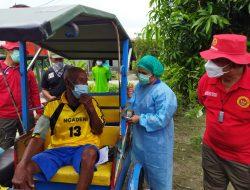 Mobil Vaksin Keliling BIN Door To Door Layani Warga di Desa Beringin