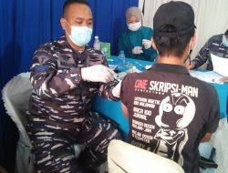 TNI AL Lanal Lampung : Serbuan Vaksin Insan Maritim 992 Dosis II tervaksin
