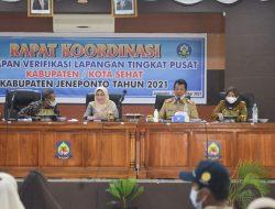 Pemerintah Daerah (Pemda) Kabupaten Jeneponto Menggelar Rapat Koordinasi