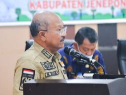 Bupati Jeneponto H. Iksan Iskandar Menerima Kunjungan Tim Verifikasi Nasional Kabupaten Kota
