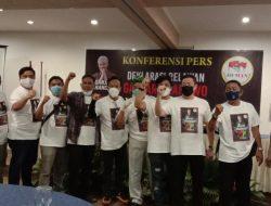 Relawan Ganjar Pranowo dan Erick Thohir Resmikan Mendeklarasikan Diri