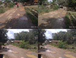 Jalan menuju Ponpes Pembangun Pulau Punjung Butuh Perbaikan