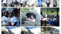 KUNJUNGAN KAPOLDA KEPRI DALAM RANGKA KEGIATAN PENGABDIAN 33 TAHUN TNI – POLRI AKABRI 89 DI WILAYAH KABUPATEN BINTAN