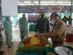 Bupati Jeneponto H. Iksan Iskandar Hadiri Acara Syukuran Dalam Rangka HUT ke -76 Tentara Nasional Indonesia (TNI)