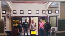 Diduga Ancam Dan Perkosa, Pria Asal Pinokalan Dijemput Team Tarsius Presisi Polsek Matuari