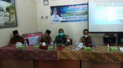 Babinsa Koramil 05 Lubuk Alung Bersama Nakes Sosialisasikan Vaksinasi Di Kantor Wali Nagari