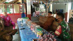 Babinsa Koramil 05/LA Melaksanakan Komsos Dengan Tokoh Pemuda Di Desa Binaannya