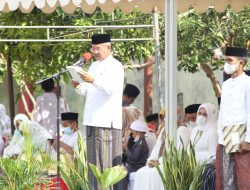 Usai Peresmian, Bupati H. Iksan Iskandar Dalam Pidatonya Mengatakan, Kampung Qur'an Al-Ihsan Menjadi Wadah Terpadu Dalam Mempelajari Al Quran